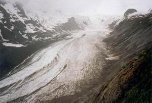 De Pasterze gletscher