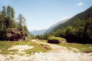 Het Ferleitendal, kijkend richting Fusch